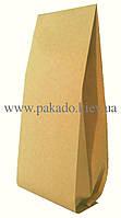 Пакет с центральным швом 100г КРАФТ+метал 65х200 ф.20+20