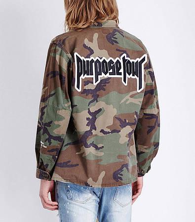 Мужская Кофта Куртка Bieber Camo| Камо rurpouse tour
