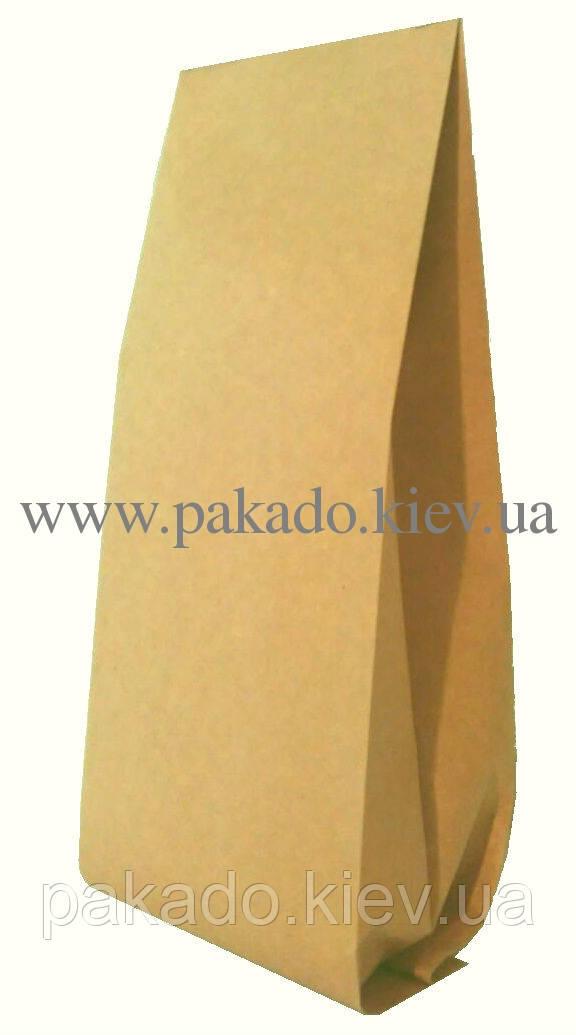 Пакет с центральным швом 180х420 ф.50+50 (2кг) КРАФТ