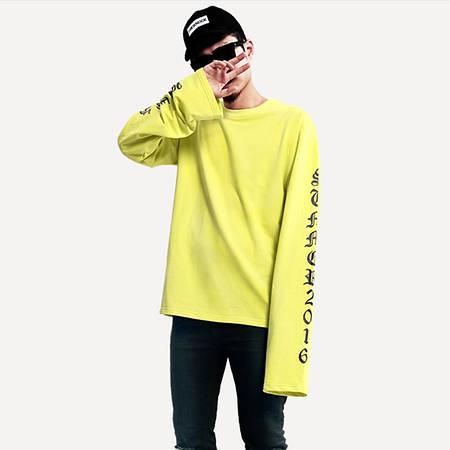 Мужская Кофта Свитшот Pablo Yellow  Желтый рукав +