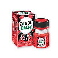 Бальзам Ультра Сила ТМ Zandu Balm головной боли, при сильных болях в спине, сутавах, при растяжении, простуда