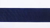 Резинка  декоративная  6 см  темн. синяя