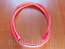Т 16000380 Силіконова трубка(у червоній обмотці), d=5x9mm, L=100mm