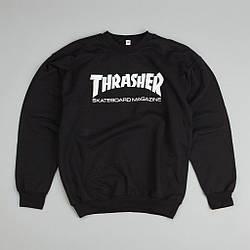 Мужские Свитшоты Thrasher Black Черный класик