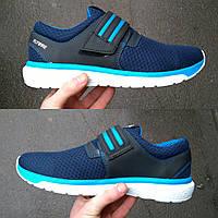 Кожаные спортивные кроссовки Adidas из турецкой сетки и подклада