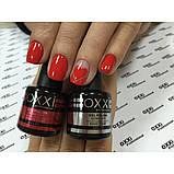 Гель - лак Oxxi №02  (красный, эмаль), фото 3