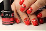 Гель - лак Oxxi №02  (красный, эмаль), фото 4