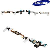 Шлейф для Samsung Galaxy J7 J700F/DS, кнопки меню, коннектора наушников, с компонентами, оригинал