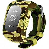 Дитячі розумні годинник Smart Watch GPS трекер Q50/G36 Camo