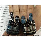 Гель - лак Oxxi №62  (синий с серым оттенком, эмаль), фото 3