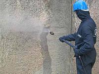 Очистка фасадов зданий