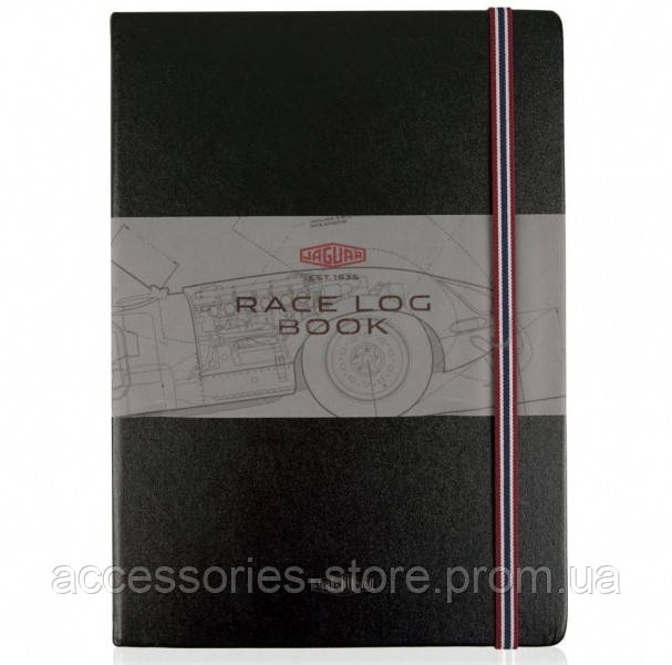 Блокнот Jaguar Heritage E-Type Notebook A4, Black