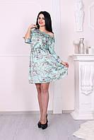 Шелковое женское платье премиум качества