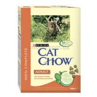 Purina Cat Chow  Adult корм для кошек с курицей и индейкой, 0,4 кг