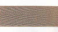 Резинка  декоративная  6 см  бежевый