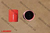 Патрубок красный МТЗ D90x5x120