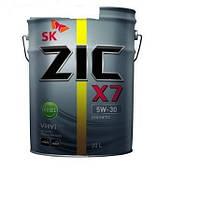 Моторное масло ZIC X7 LS 5W - 30 20л.(Ю.Корея)