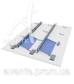 Комплект системы крепления балластной конструкции * (без балласта) 4 модуля (цинк/цинк) - АВАНТЕ в Киеве