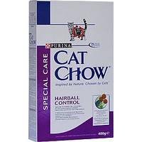 Purina Cat Chow Hairball Control корм для выведения шерсти у кошек 0,4 кг