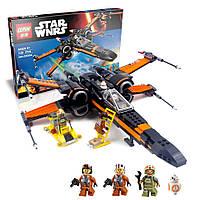 Конструктор Lepin 05004 Истребитель По - аналог лего 75102 Star Wars, 736 дет.
