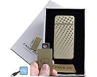 Запальничка електронна USB з зарядкою 4796С-1