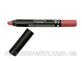 Матова помада, олівець для губ GOLDEN ROSE MATTE LIPSTICK CRAYON [22]