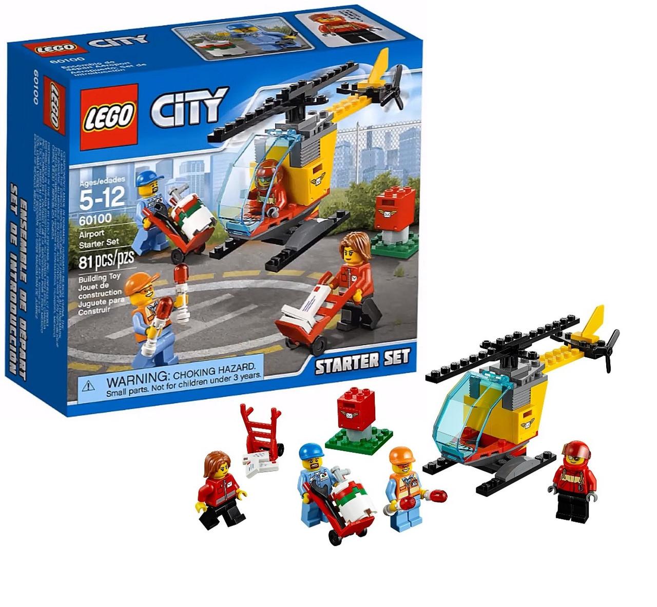 LEGO City Аэропорт стартовый набор 60100