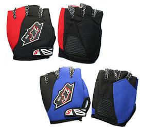 Перчатки Mod 555 Bavar Sport (красный, синий)