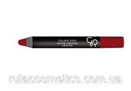 Матова помада, олівець для губ GOLDEN ROSE MATTE LIPSTICK CRAYON [23]