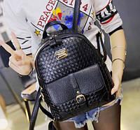 Рюкзак женский кожзам плетенный Mendi, фото 1