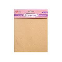 Рисовая бумага  желтая 952711