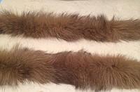 Натуральный мех блюфрост (помесь песца и чернобурой лисицы) на капюшон