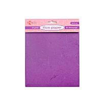 Рисовая бумага, фиолетовая 952719