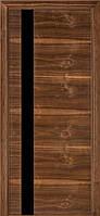 Двери межкомнатные Терминус. Модель 21.Декор орех американский