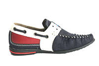 Детская обувь туфли мокасины на мальчика 27 - 32 размер кож. стелька, супинатор