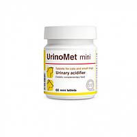 Dolfos UrinoMet mini - Регулятор кислотности мочи у мини собак и кошек (1704-60) 60 табл.