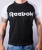 Мужская футболка-реглан Reebok оптом и в розницу