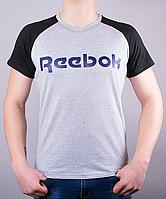 Качественная мужская футболка-реглан Reebok