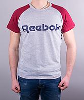 Прикольная мужская футболка-реглан Reebok