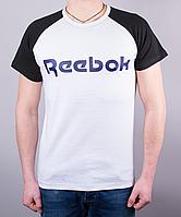 Классная мужская футболка-реглан Reebok