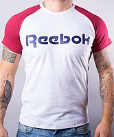 """Модная мужская футболка-реглан """"Reebok 101 """""""