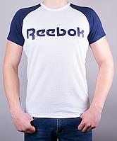 Cтильная мужская футболка-реглан Reebok