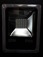 Светодиодный прожектор с энергопотреблением 20W,степенью защиты IP65