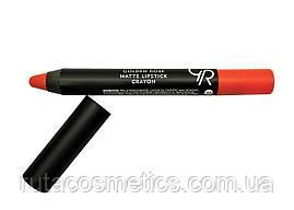 Матова помада, олівець для губ GOLDEN ROSE MATTE LIPSTICK CRAYON [24]
