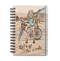 """Блокнот скетчбук """"Мой велосипед"""" с цветным внутренним блоком СКИДКА"""