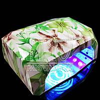 УФ лампа CCFL+LED DIMOND на 36 Вт (green lily)