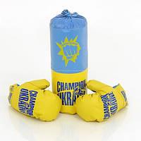 Боксерский набор  UA малый  40см ДАНКО ТОЙС