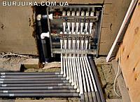 Монтаж (установка) и подключение коллектора для радиаторов, теплого пола, тепловых насосов в Одессе