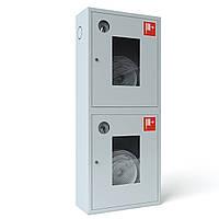 Шкаф пожарный ШПК-321 ВО встроенный без задней стенки под 2 рукава 1300х600х230 мм