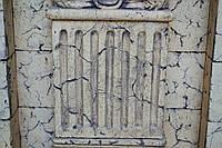 Архитектурный элемент Фуст пилястры (секция)